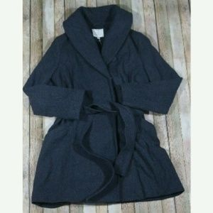 A New Day Wool Winter Coat Belted NWT